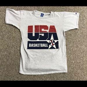 Vintage 1992 team USA champion single stitch shirt